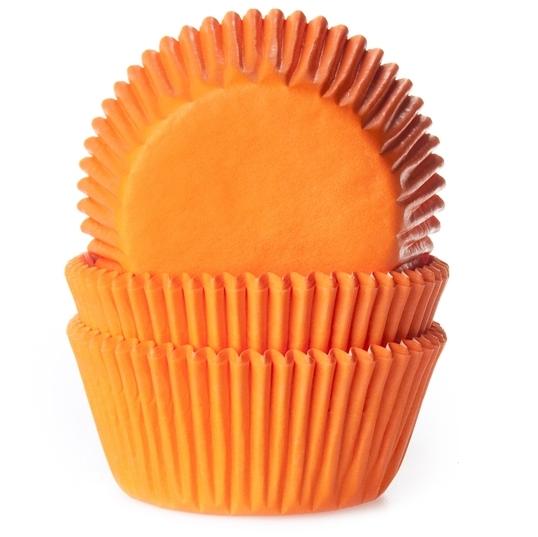 Cápsulas para cupcakes Naranja House of Marie