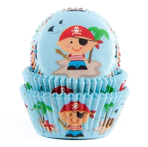 Cápsulas para Cupcakes Pirate House of Marie