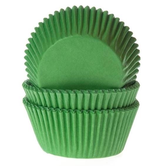 Cápsulas para Cupcakes Verdes House of Marie