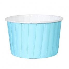 Cápsulas para cupcakes azul claro