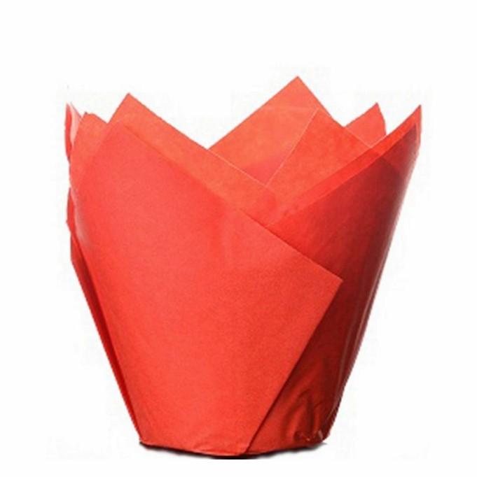 Cápsulas para Muffins Rojas