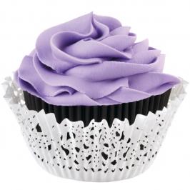 Kit Cápsulas para cupcakes Blonda Negro