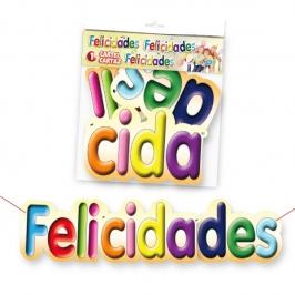 Cartel Felicidades