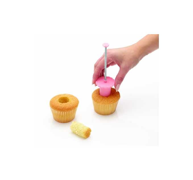 Descorazonador de cupcake 2,5 cm - Kitchen Craft