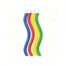 Set 10 velas arcoiris Wilton
