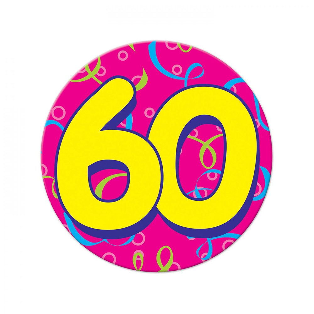 Chapa Gigante 60 Cumpleaños
