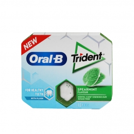 Chicle trident oral-b