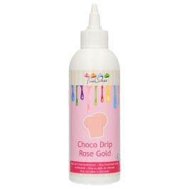 Choco Drip Pearl Oro Rosado