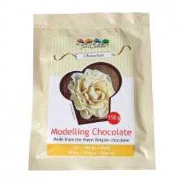 Chocolate blanco para modelar 150gr
