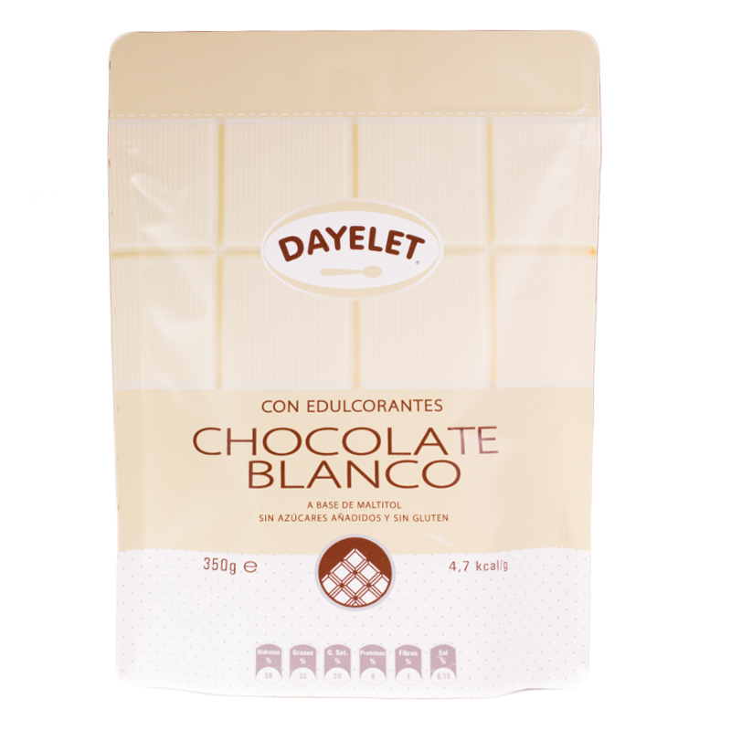 Chocolate Blanco Sin Azúcar 350gr - My Karamelli