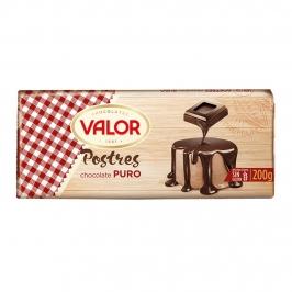 Chocolate de Cobertura 52% Cacao 200 gr - Valor
