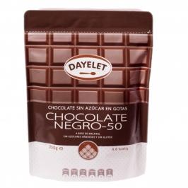 Chocolate negro de cobertura sin azúcar 350g - My Karamelli