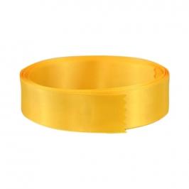 Cinta de raso doble amarilla