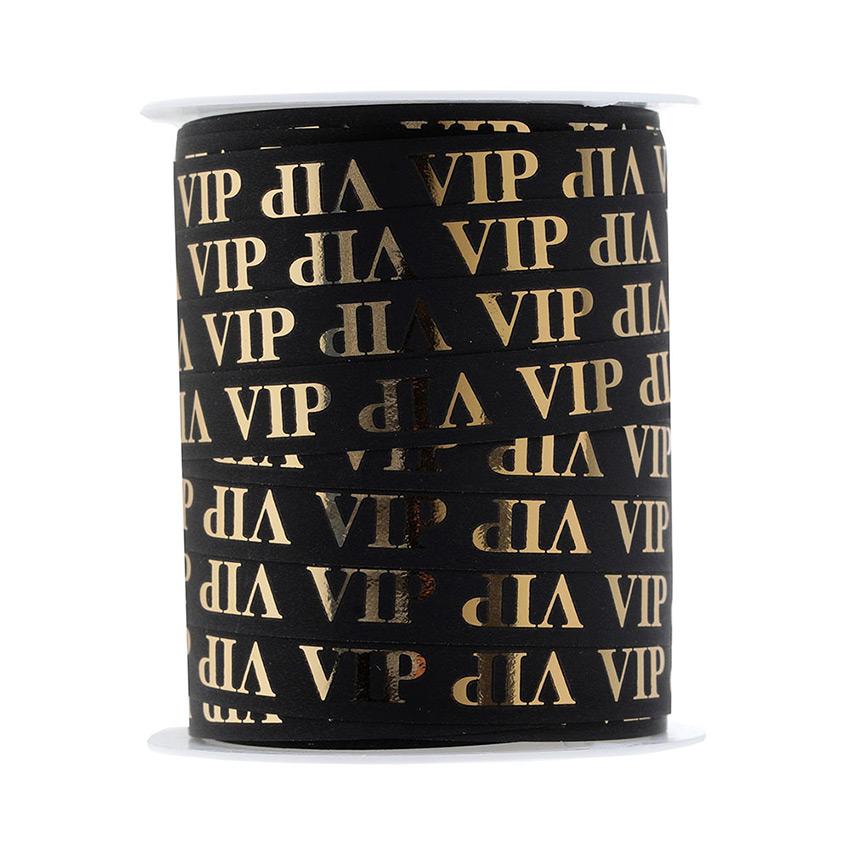 Cinta para Atar Globos Negra VIP 25 m