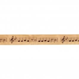 Cinta satinada Partitura Musical 36mm (1 mts) - My Karamelli