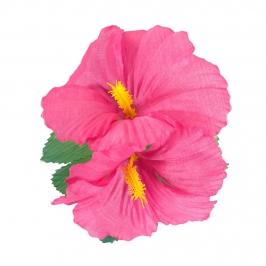 Clip para el Pelo Hawaiano Hibiscus Rosa