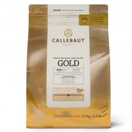 Cobertura de Chocolate Callebaut Gold 2,5 kg