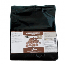 Cobertura de chocolate con leche gourmet Home Chef 500gr