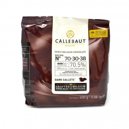 Cobertura de Chocolate Negro 70% 400 gr
