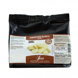 Cobertura Gourmet de Chocolate blanco Home Chef 250gr