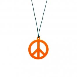 Collar Hippie Naranja