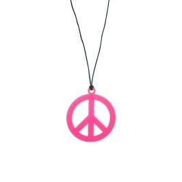Collar Hippie Rosa