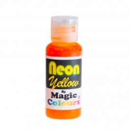 Colorante en Gel Neon Magic Colours Amarillo 32 gr