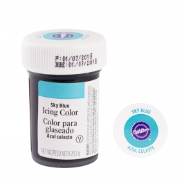 Colorante en gel azul cielo Wilton - My Karamelli