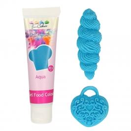 Colorante en Gel Azul Aqua FunColours de FunCakes