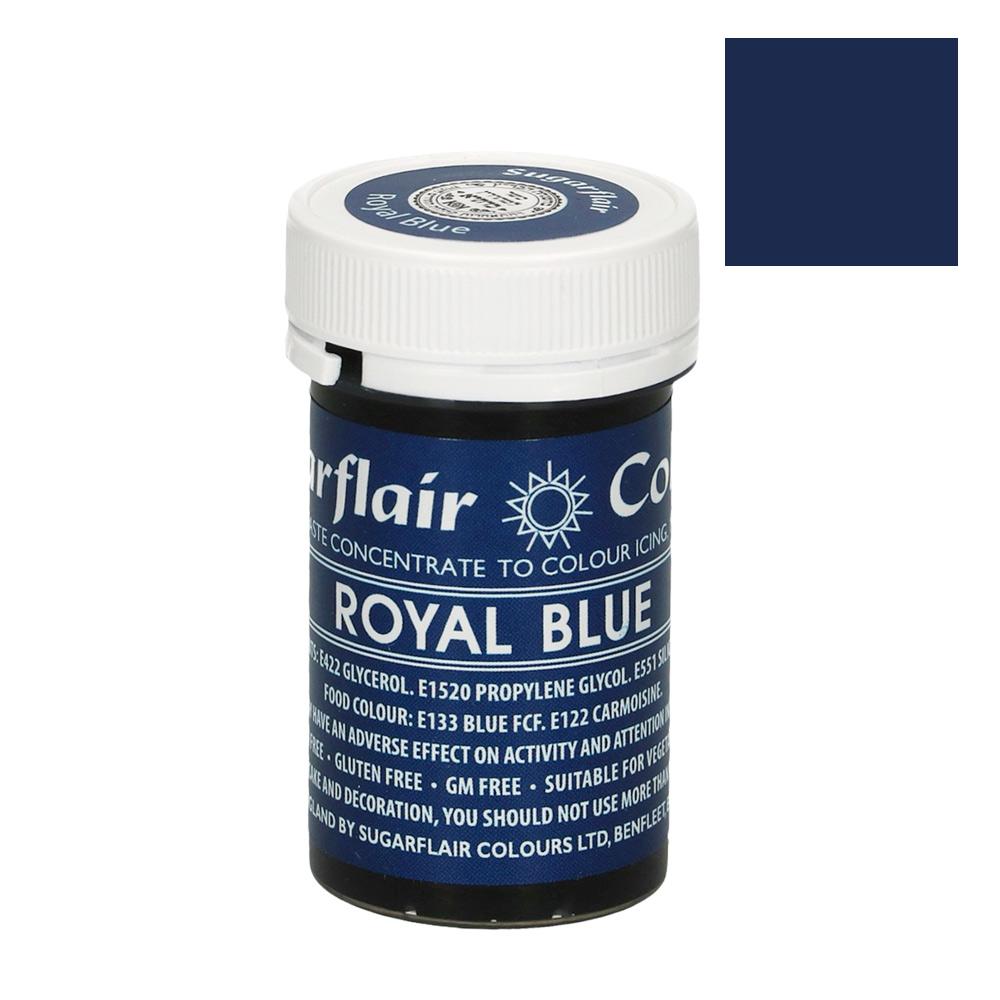 Colorante en pasta color Azul Real de Sugarflair