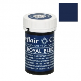 Colorante en pasta color Azul Real de Sugarflair