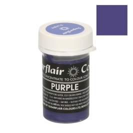 Colorante en pasta color pastel Morado Sugarflair