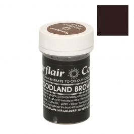 Colorante en Pasta Marrón Woodland 25 gr - Sugarflair