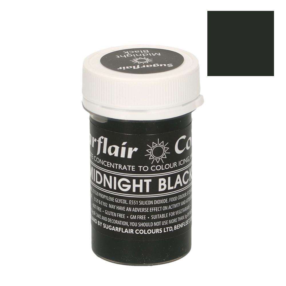 Colorante en Pasta Negro Medianoche Pastel