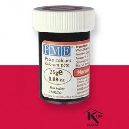 Colorante en Pasta Rojo Granate 25 gr