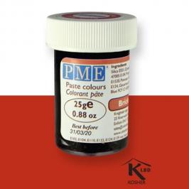 Colorante en Pasta Rojo Ladrillo 25 gr