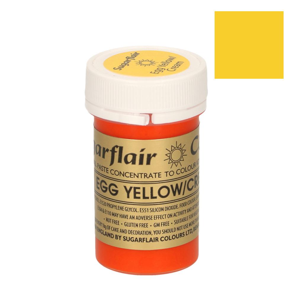 Colorante en pasta Sugarflair amarillo huevo