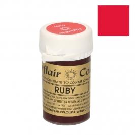 Colorante en pasta Sugarflair rojo Rubí