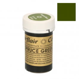 colorante en pasta Sugarflair spruce green