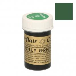 Colorante en pasta Sugarflair verde acebo