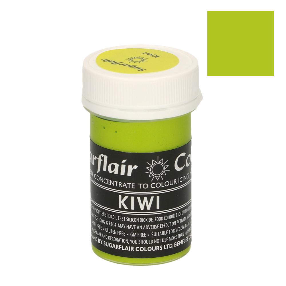 Colorante en Pasta Verde Kiwi Pastel Sugarflair