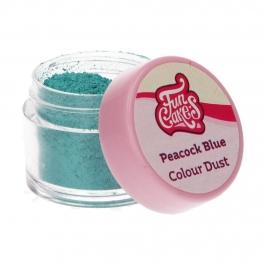 Colorante en Polvo Color Azul Pavo Real