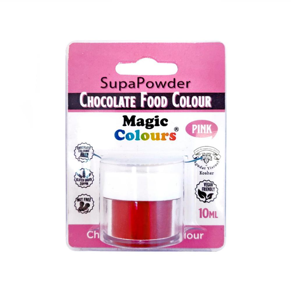 Colorante en Polvo para Chocolate Rosa