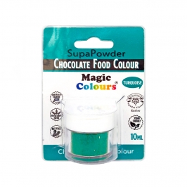 Colorante en Polvo para Chocolate Turquesa 10 ml