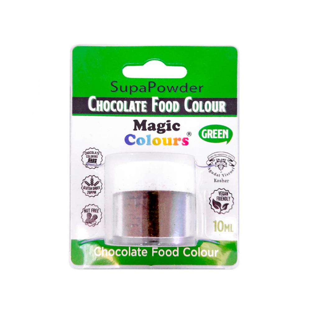 Colorante en Polvo para Chocolate Verde