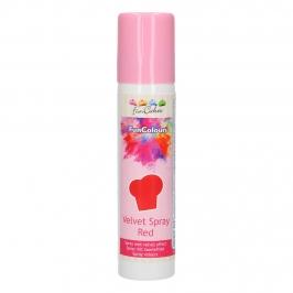 Colorante en spray para una decoración de efecto aterciopelado
