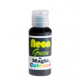 Colorante en Gel Neon Magic Colours Verde 32 gr