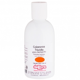 Colorante para Aerógrafo Color Naranja 200ml - My Karamelli