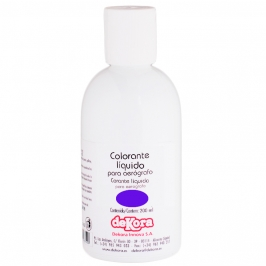 Colorante para aerógrafo color Violeta 200ml - My Karamelli