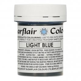 Colorante para Chocolate Azul Claro 35 gr - Sugarflair